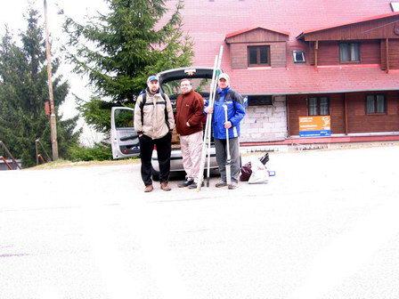 Příjezd (MateS, Franta, Pavel)