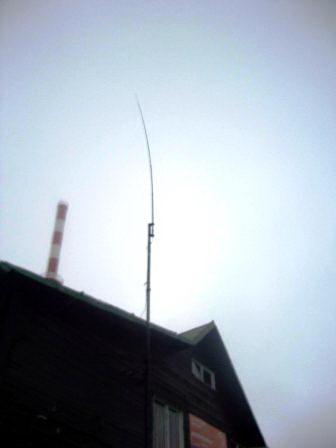Anténa a vysílač