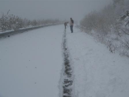 Odhazování sněhu