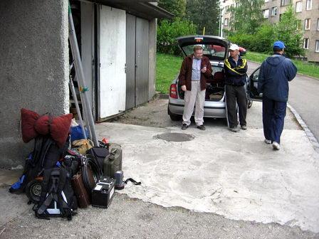 Balení u Franty (Franta, Pavel, Mates)