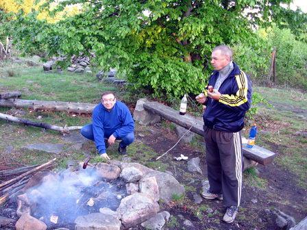 Franta Hokej a Pavel Smrk