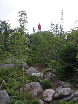 Petr Frýdek na skalách