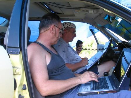 Vysílací stanoviště (Mirek a Pavel)